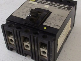 Square D 3 Pole 100 Amp FAL Breaker
