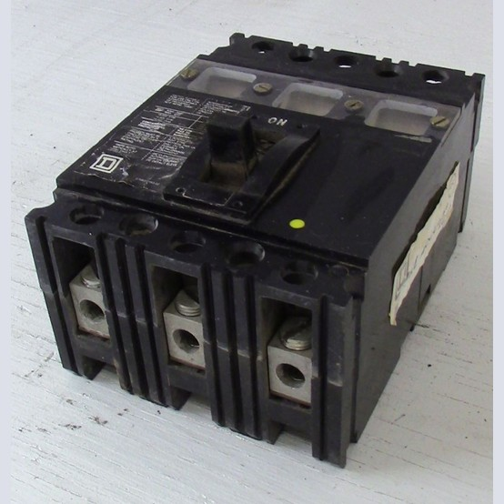 Used Square D 3 Pole 100 Amp Breaker For Sale
