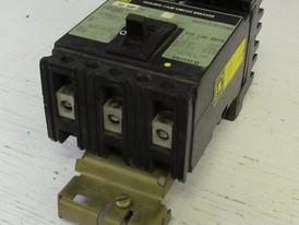 Square D 3 Pole 60 Amp Type FA I-Line Breaker