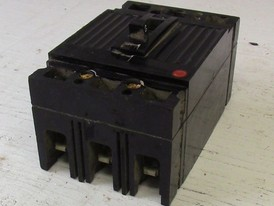 General Electric 3 Pole 40 Amp Breaker