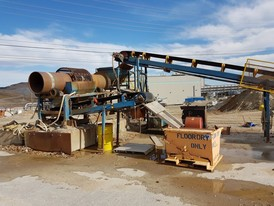 30 in x 12 ft Trommel Wash Plant