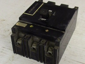 Square D 3 Pole 100 Amp ML1 Breaker
