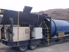 Model 100 Gold Machine Trommel Wash Plant