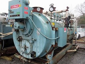 Cleaver Brooks 150 HP Firetube Boiler