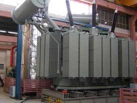 Areva 50 MVA Distribution Transformer