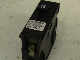 Siemens 1 Pole 15 Amp Push-in Breaker