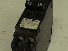 Siemens 1 Pole Tandem 15 Amp Push-in Breaker
