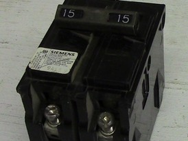Siemens 2 Pole 15 Amp Push-in Breaker
