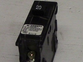 Siemens 1 Pole 20 Amp Push-in Breaker
