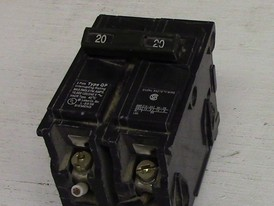Siemens 2 Pole 20 Amp Push-in Breaker