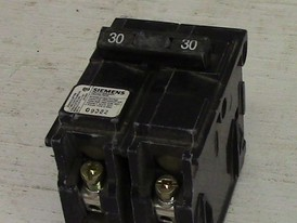 Siemens 2 Pole 30 Amp Push-in Breaker