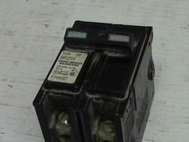 Cutler Hammer 2 Pole 50 Amp Push-in Breaker