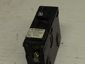 Siemens 1 Pole 30 Amp Push-in Breaker