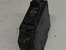 General Electric 1 Pole 15 Amp Push-in Breaker