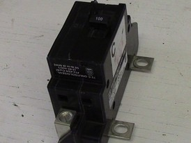 Square D 2 Pole 100 Amp Panel Main Breaker