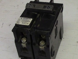 Siemens 2 Pole 20 Amp Type BQ Bolt-on Breaker