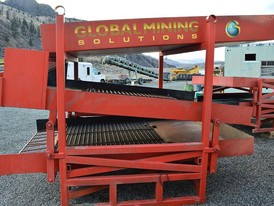 Global Mining Solutions GMS-200 3 Deck Gold Wash Plant