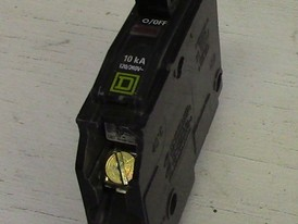 Square D 1 Pole 15 Amp Push-in Breaker
