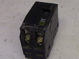 Square D 2 Pole 15 Amp Push-in Breaker