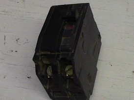 Square D 2 Pole 20 Amp Bolt-on Breaker