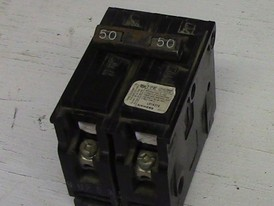 Siemens 2 Pole 50 Amp Push-in Breaker