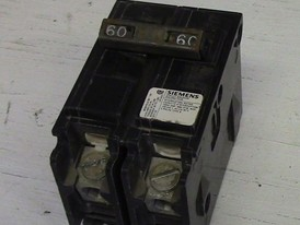 Siemens 2 Pole 60 Amp Push-in Breaker