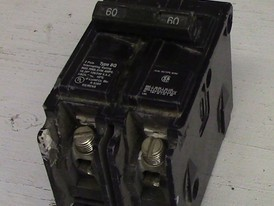 Siemens 2 Pole 60 Amp Type BQ Bolt-on Breaker
