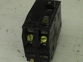 Square D 2 Pole 30 Amp Push-in Breaker