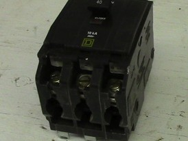 Square D 3 Pole 40 Amp Push-in Breaker