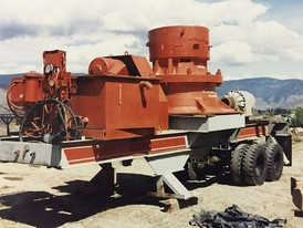 Allis Chalmers 45 in Hydro Cone Crushing Plant