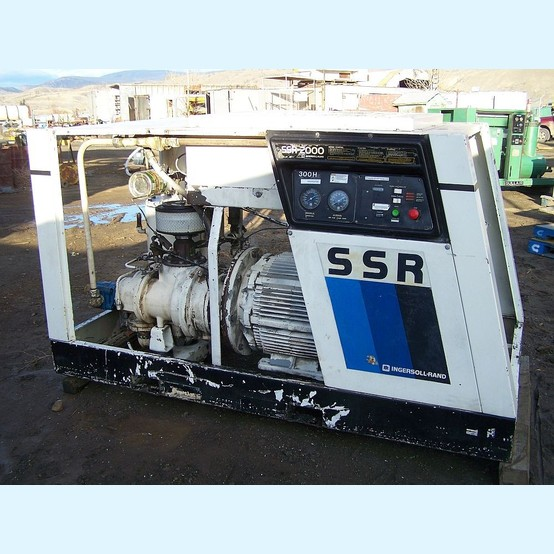 Ingersoll-Rand 300 cfm electric air compressor    Ingersoll