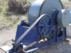 Skid Mounted 6.5 ft x 30 in Ball Mill