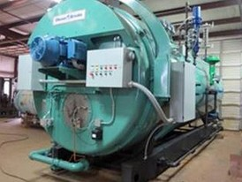 Cleaver Brooks 800 HP Firetube Boiler