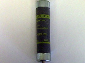 Gould 70 Amp One-Time Fuse