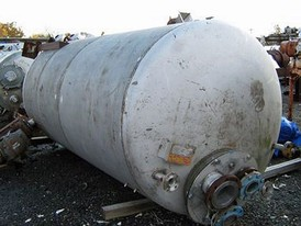 1500 Gallon SS Agitated Tank