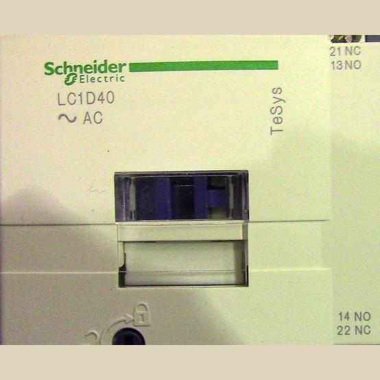 Used Schneider Electric Size 1 Pump Motor Starter For Sale