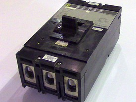 Square D 3 Pole 400 Amp Type LAL Breaker