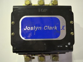 Joslyn Clark DC Drive Contactor With 120 VAC Coil