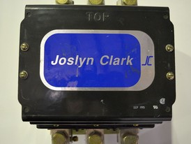 Joslyn Clark DC Drive Contactor With 480 VAC Coil