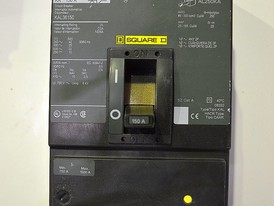 Square D 3 Pole 150 Amp KAL Breaker