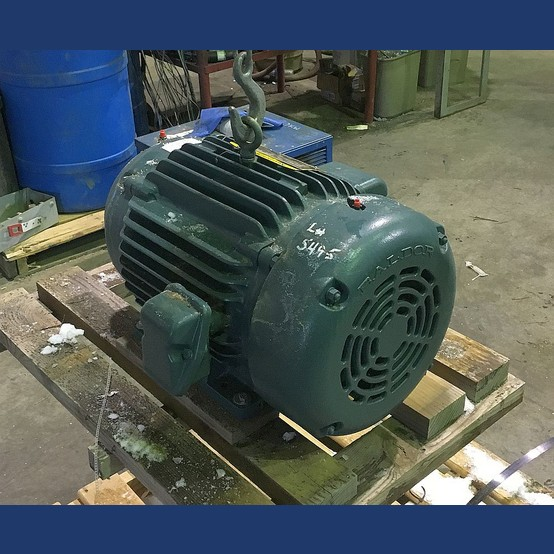 New baldor reliance tefc 20 hp motor for sale for Baldor electric motors for sale