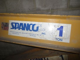 Spanco 1 Ton Jib Crane Assembly