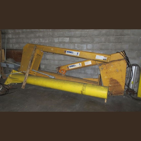 Overhead Crane Assembly : Spanco crane supplier worldwide used ton jib