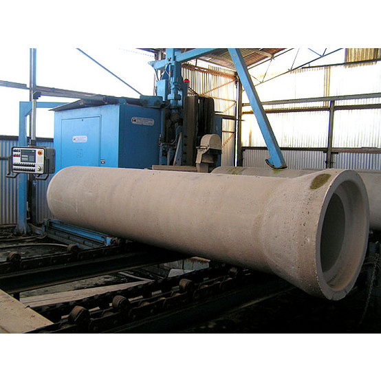 Concrete Pipe Plant : Used concrete pipe mill for sale