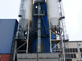 240 Ton Concrete Mixing Tower