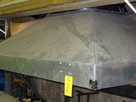 Galvanized Exhaust Hood