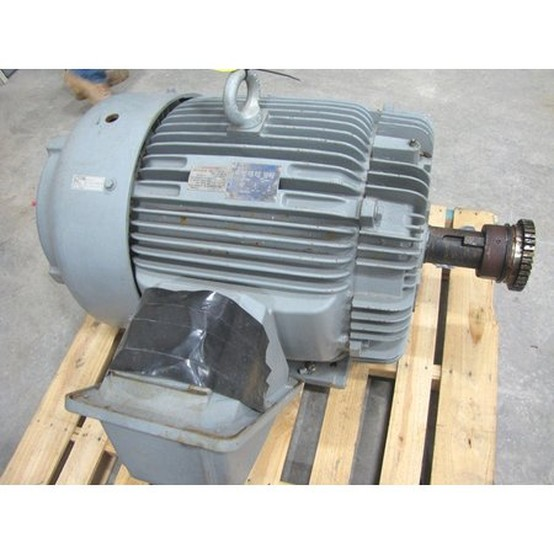Used Teco Westinghouse 125 Hp Motor For Sale Teco