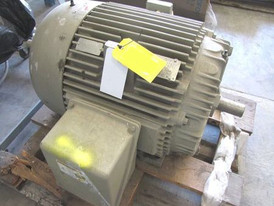 General Electric 100 HP Motor