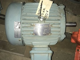 Teco-Westinghouse High Efficiency 3 HP Motor