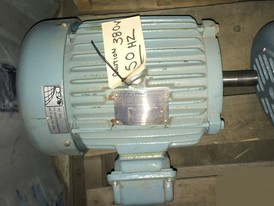 Teco-Westinghouse High Efficiency 5 HP Motor